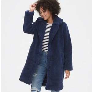 NWT Gap Teddy Coat Jacket XS